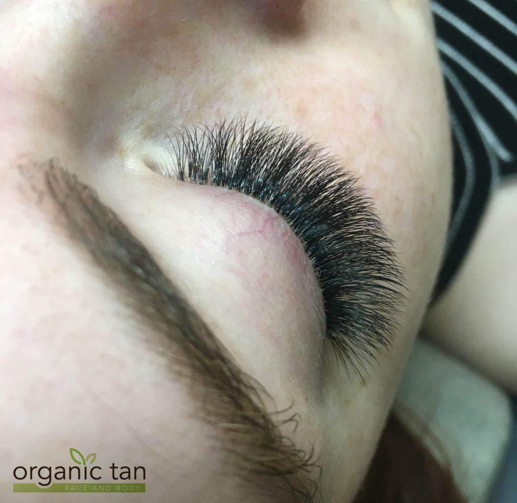 Sleeping With Eyelash Extensions Organic Tan