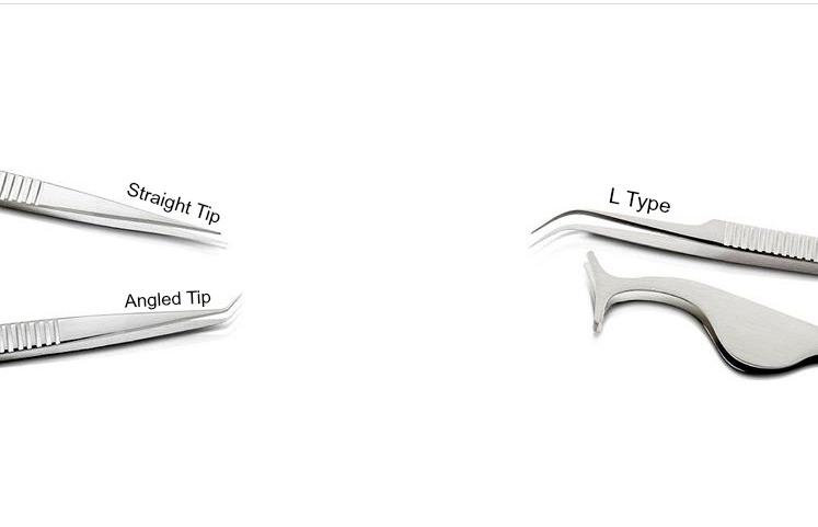 Eyelash Extension Tweezers and Their Uses - Organic Tan