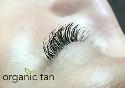 Lash Extensions - Organic Tan